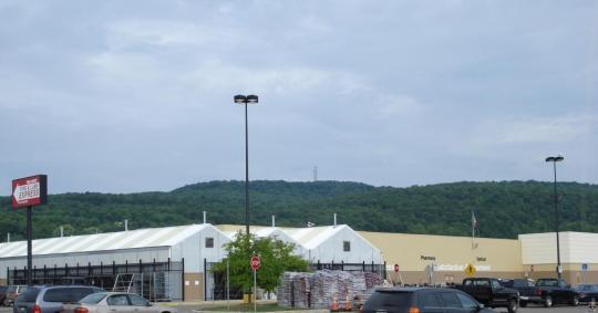 Hornell Walmart- summer 2008