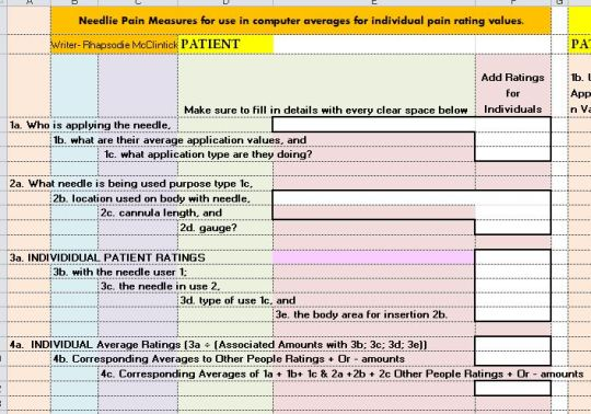 b- 0-10 pain rating INFO Capture A